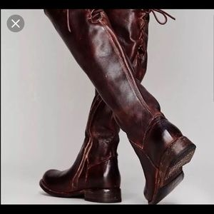 BedStu Manchester boots brown leather